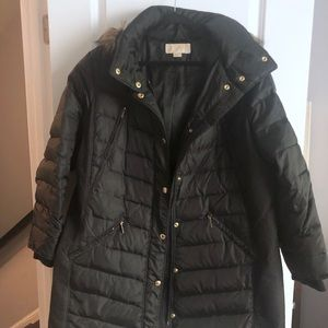 Michael Kors Black Puffer Jacket Size 1x